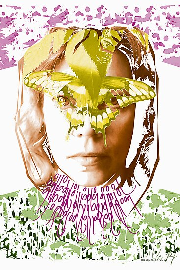 masquerade binary code digital art by veerapfaffli