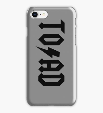 TO/AD (b) iPhone Case/Skin