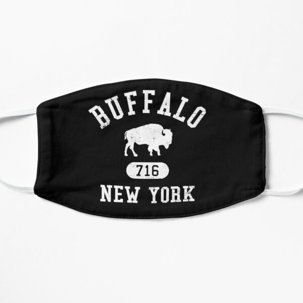 Buffalo, New York 716 Collegiate Flat Mask