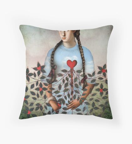 Fridas Dream Throw Pillow