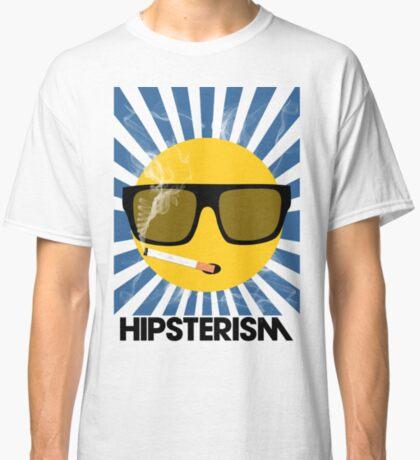 HIPSTERISM (SERIES) [blue/black] Classic T-Shirt