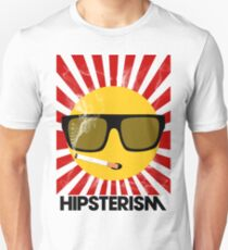 HIPSTERISM (SERIES) [red/black] T-Shirt