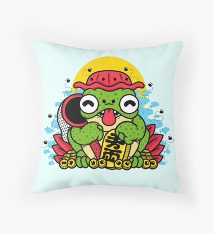 KAERU Throw Pillow