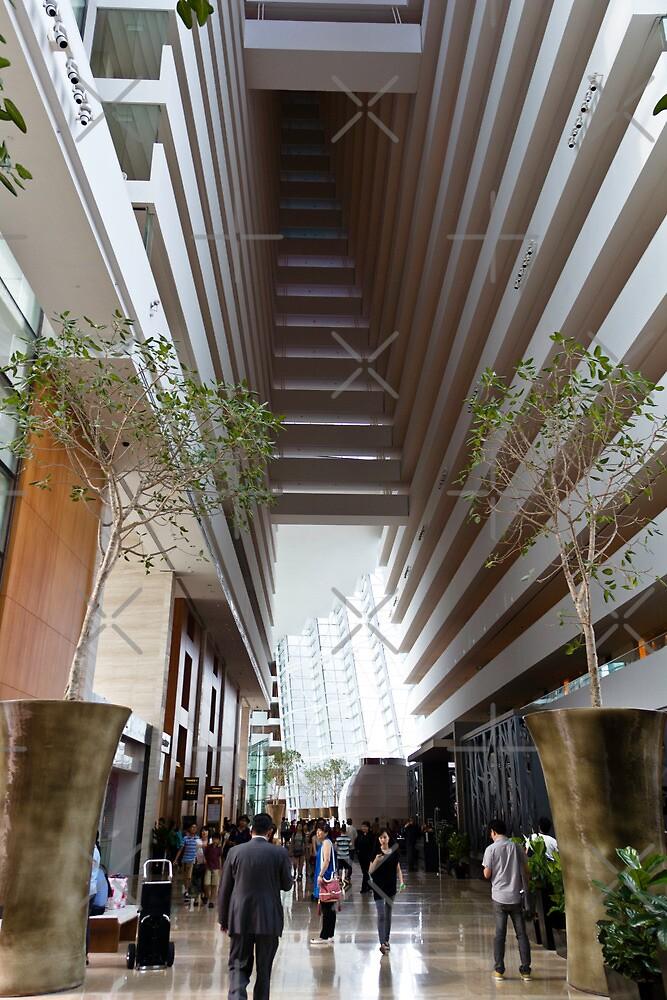 Inside the Marina Bay Sands resort in Singapore by ashishagarwal74