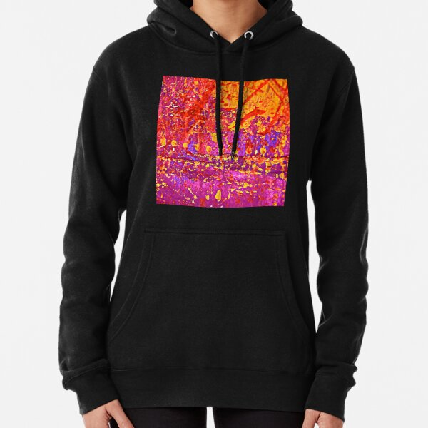 Abstract 12078 Pullover Hoodie