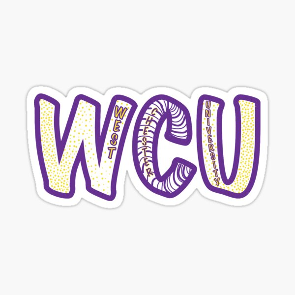 WCU-West Chester University Sticker