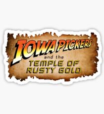 Iowa Pickers Sticker