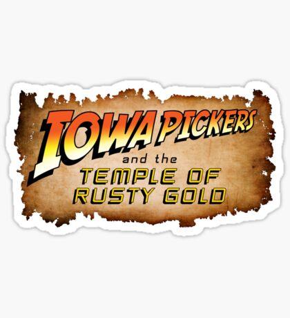 Iowa Pickers Sticker
