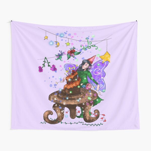 Parigold the Party Fairy™ Tapestry