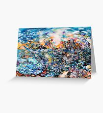 Woman Rising From the Sea Greeting Card