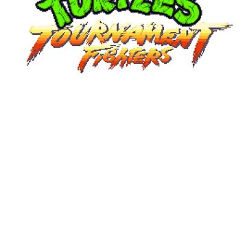 TMNT Tournament Fighters (SNES) Title Screen by AvalancheShirts