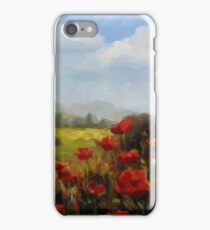 Beyond the Poppies by Chris Brandley iPhone Case/Skin