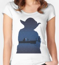 Empire Strikes Back Women's Fitted Scoop T-Shirt