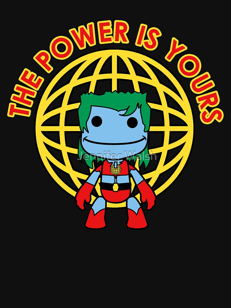 Captain Little Big Planet - Multiple Shirt Colors by InsertTitleHere