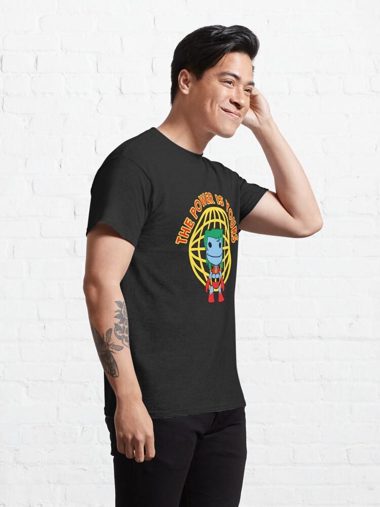 Alternate view of Captain Little Big Planet - Multiple Shirt Colors Classic T-Shirt
