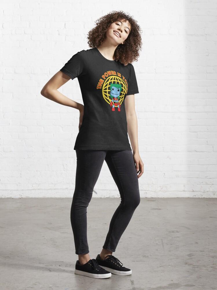 Alternate view of Captain Little Big Planet - Multiple Shirt Colors Essential T-Shirt