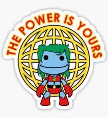 Captain Little Big Planet - Multiple Shirt Colors Sticker