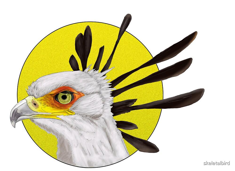 Secretary Bird by skeletalbird
