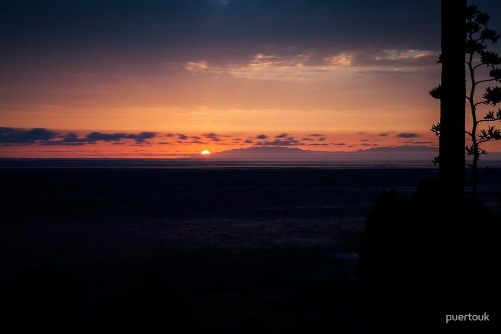 Sunset over La Palma 3 by puertouk