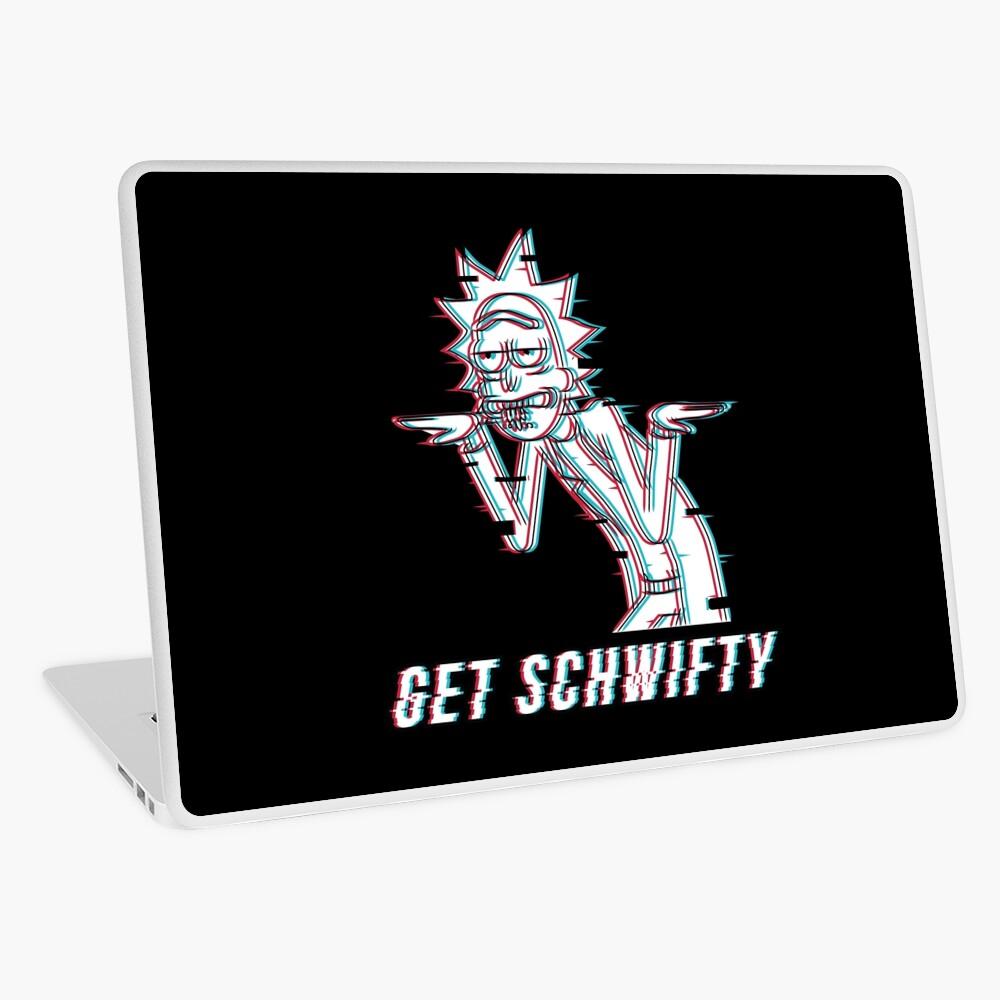 Get Schwifty Laptop Skin