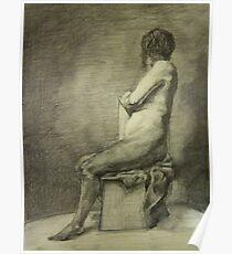 Seated Figure Poster