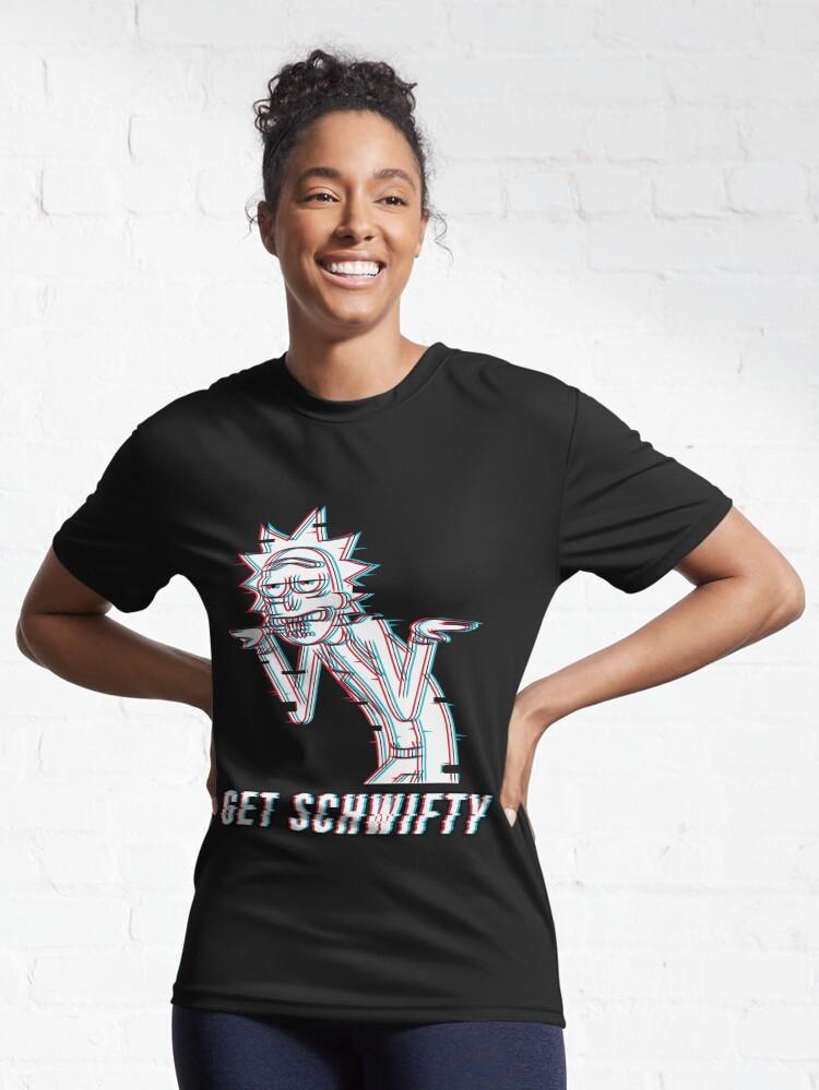 Alternate view of Get Schwifty Active T-Shirt