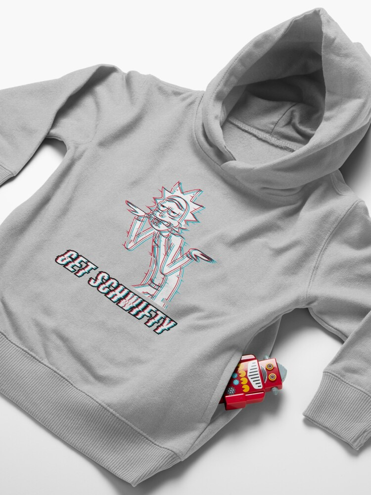 Alternate view of Get Schwifty Toddler Pullover Hoodie