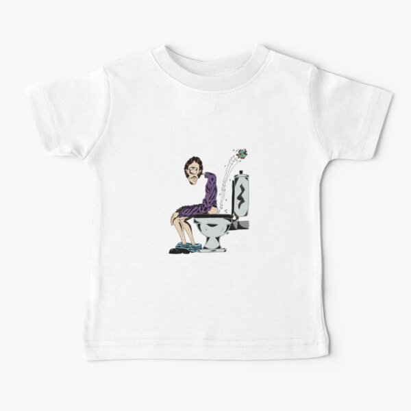 Man on the toilet Baby T-Shirt