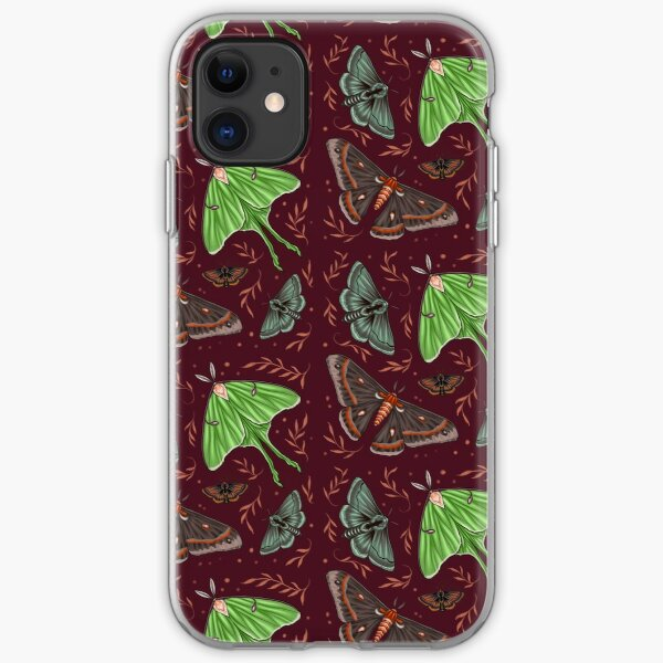 Fairytale Moths iPhone Soft Case