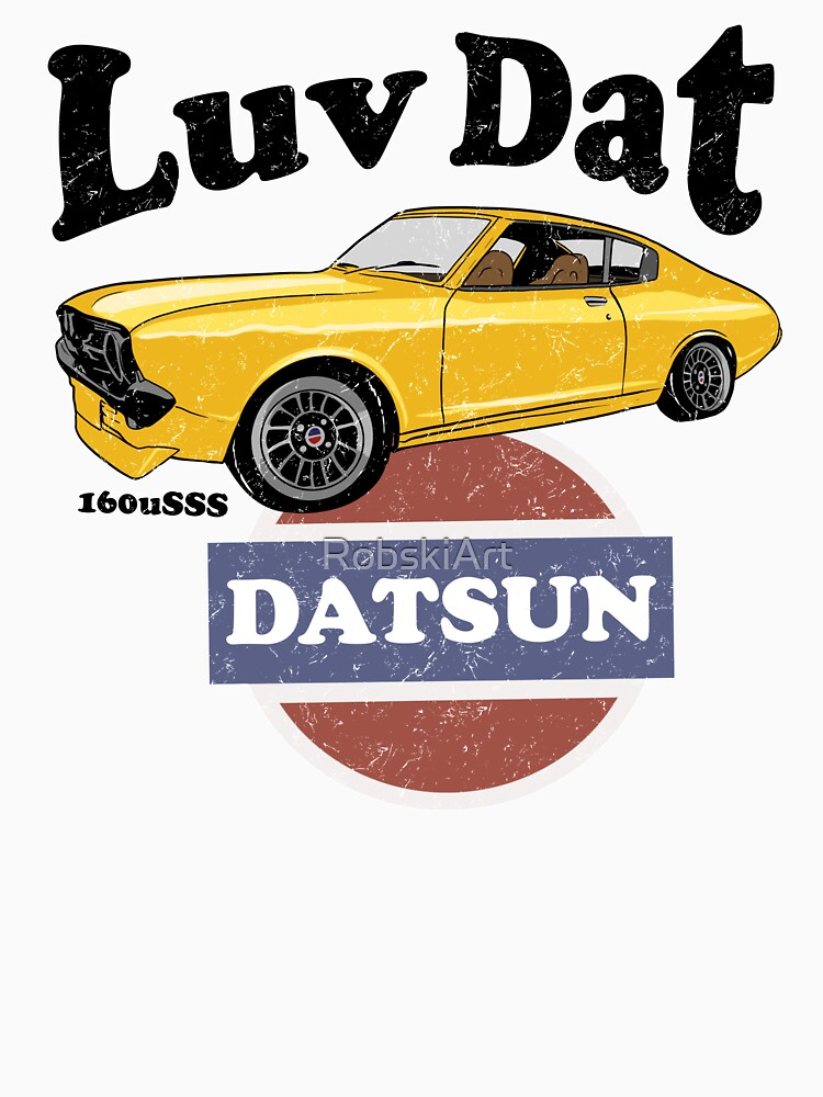 Luv Dat Datsun - vintage light Background by RobskiArt