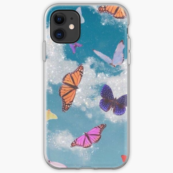 Butterfly Glitter iPhone Soft Case