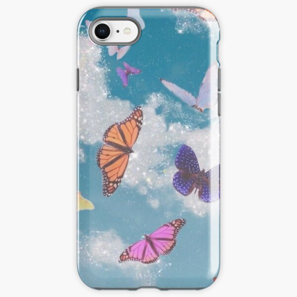 Butterfly Glitter iPhone Tough Case