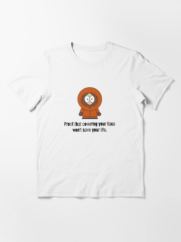 Alternate view of Kenny proves it Essential T-Shirt