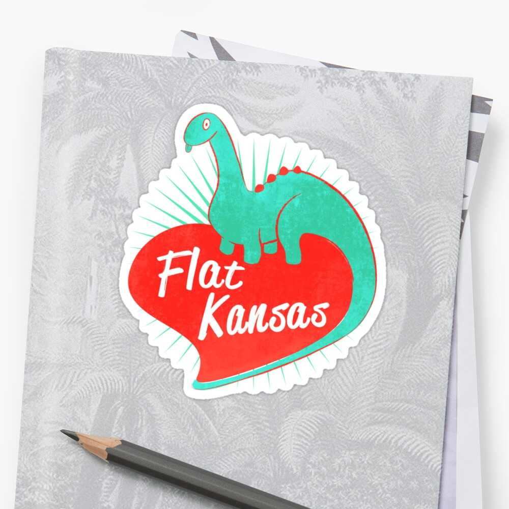 Flat Kansas by MWMcCullough