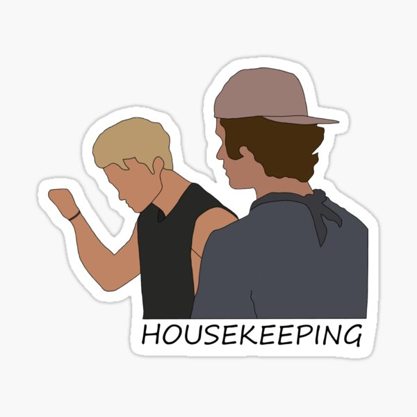Outer Banks housekeeping Sticker