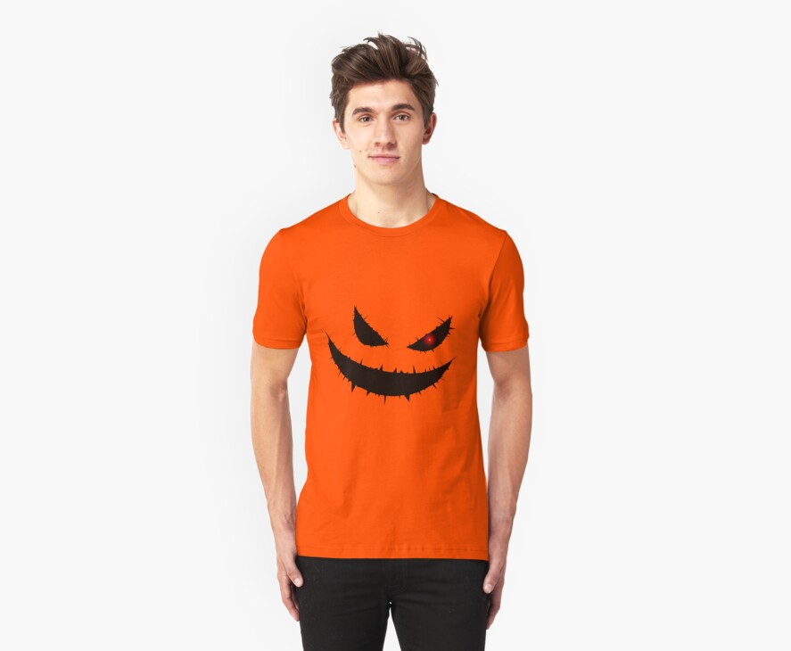 Scary Pumpkin Face by pixelman