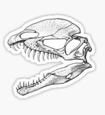 Twin Crests Sticker