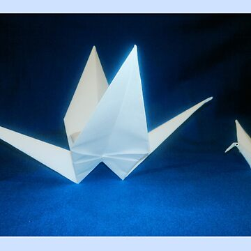 Paper Cranes by Spardia