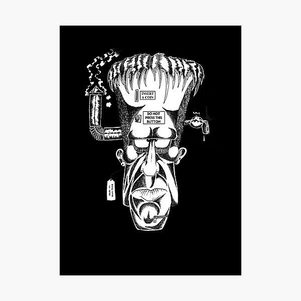 Frankenstein creature Photographic Print