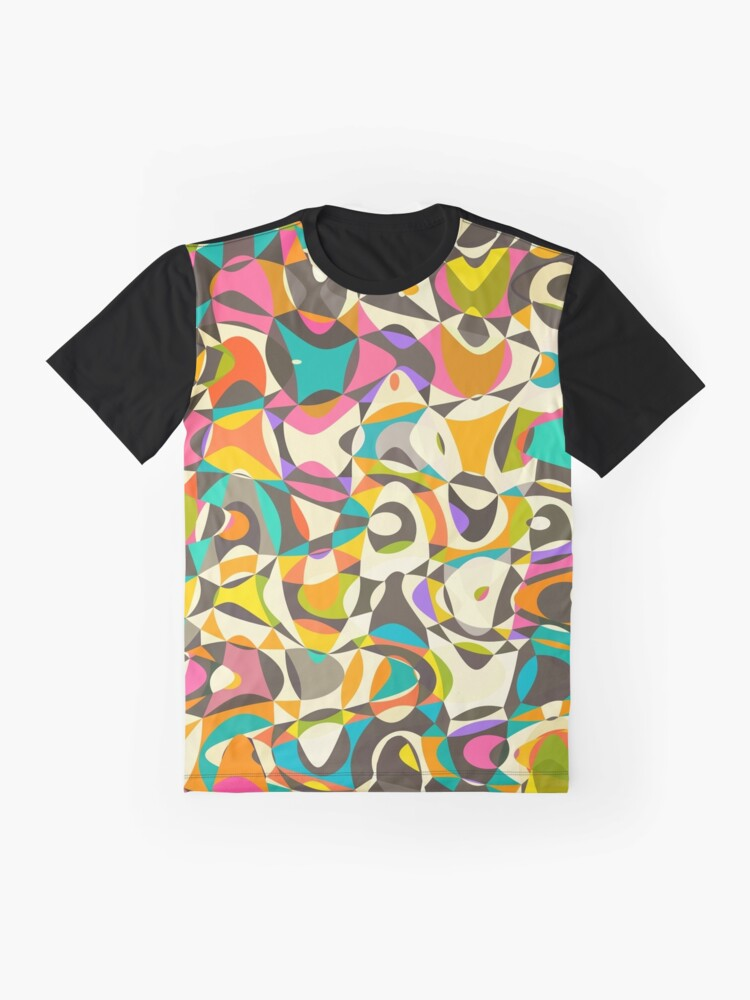 Alternate view of Mod Tumble Graphic T-Shirt