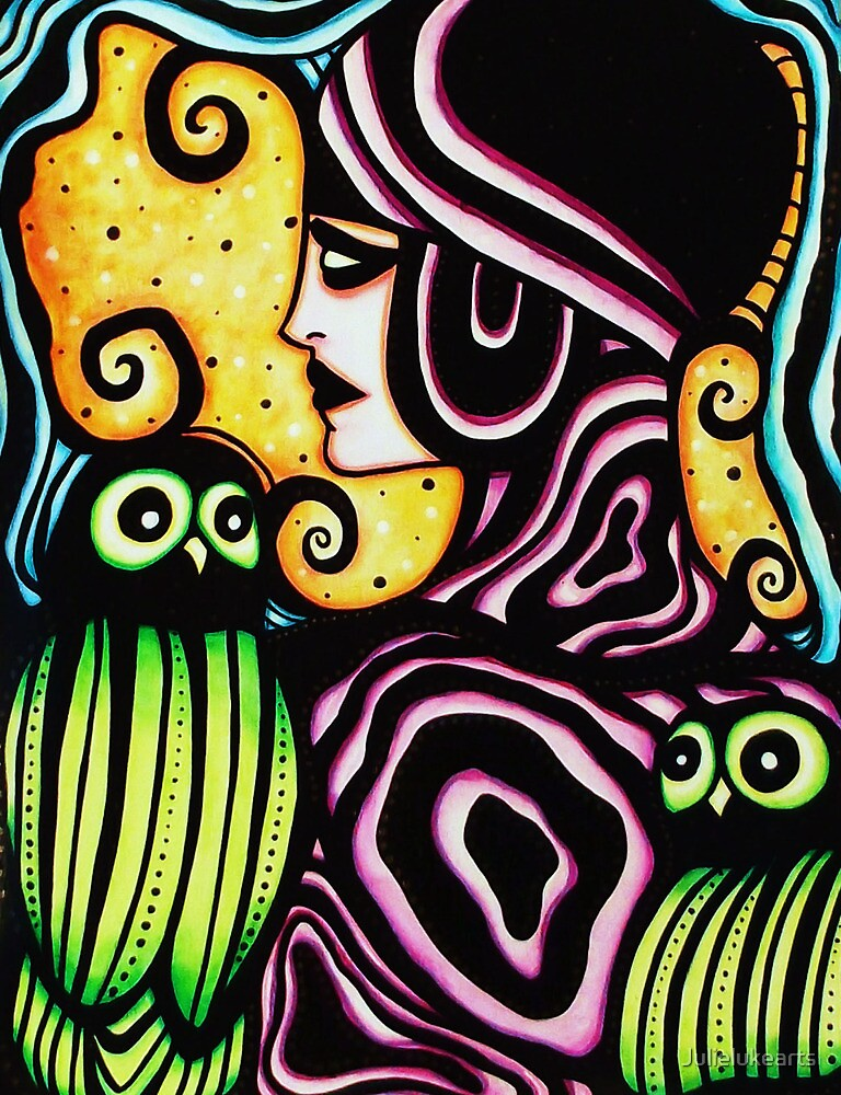 """""""Metamorphosis: growth ,balance and the visionary attunement with self"""" by Julielukearts"""