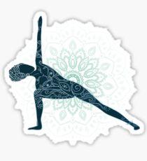 Yoga Om Chakras Mindfulness Meditation Zen 5 Sticker