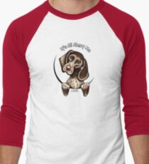 German Shorthaired Pointer :: It's All About Me Men's Baseball ¾ T-Shirt