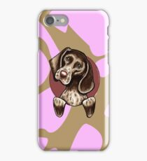 German Shorthaired Pointer Pink Camouflage iPhone Case/Skin
