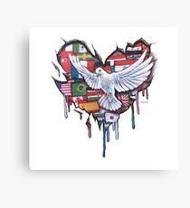 Peace by Jody Steel Canvas Print