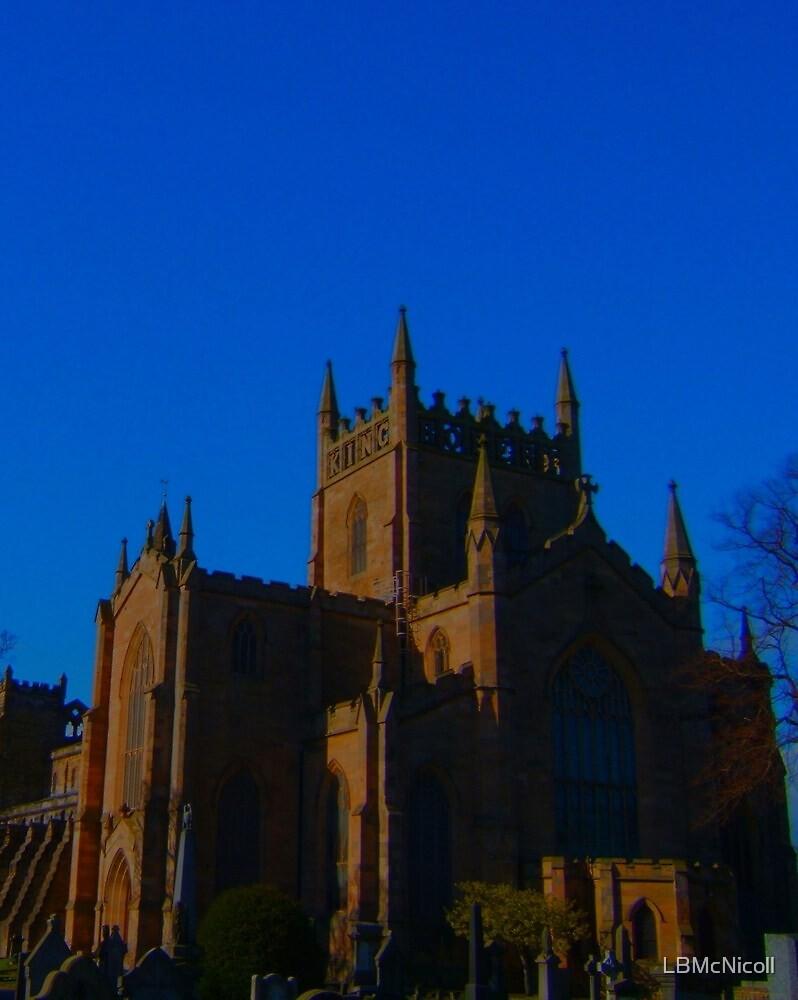Dunfermline Abbey, Kingdom of Fife, Scotland, by LBMcNicoll
