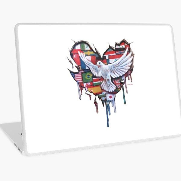 Peace by Jody Steel Laptop Skin
