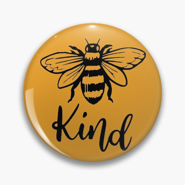 Bee Kind T-Shirt, Bee Happy Shirt, Mustard Color, Bee Shirt, Fall Shirt, Motivational Shirt, Inspirational Shirt, Adventure Shirt, Spring Shirt, Kindness Shirt, Camping Shirt, Pin