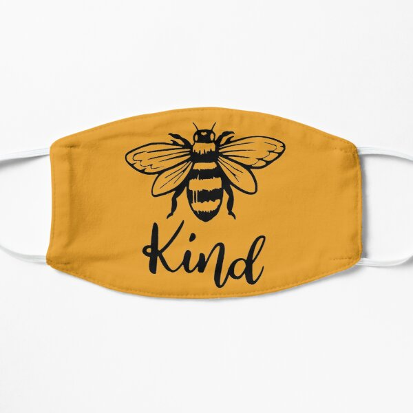 Bee Kind T-Shirt, Bee Happy Shirt, Mustard Color, Bee Shirt, Fall Shirt, Motivational Shirt, Inspirational Shirt, Adventure Shirt, Spring Shirt, Kindness Shirt, Camping Shirt, Flat Mask