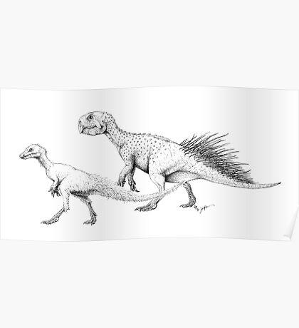 Ornithischians, Enquilled Poster